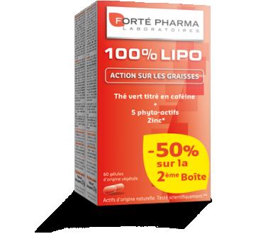 100% Lipo - 60 gélules