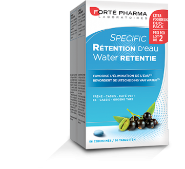 Waterretentie 56 tabletten