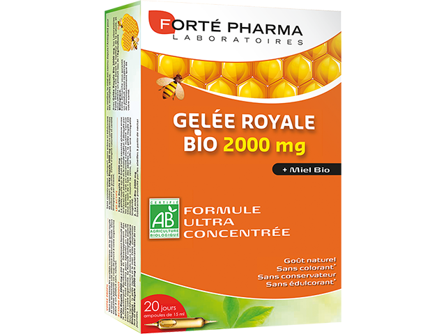 GELÉE ROYALE BIO 2000 mg